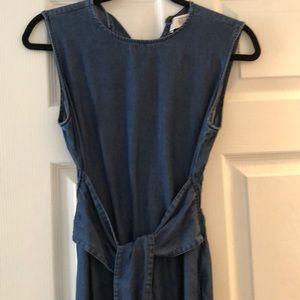Zara maxi sleeveless dress w pockets!!